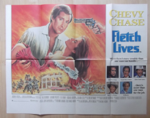 Fletch Lives, Original UK Quad Poster, Chevy Chase, Julianne Phillips, '89